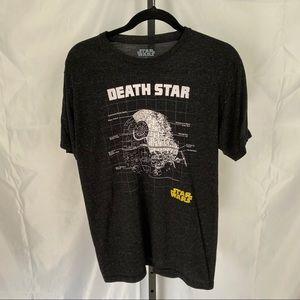 Fifth Sun Star Wars Death Star T-Shirt, size Med
